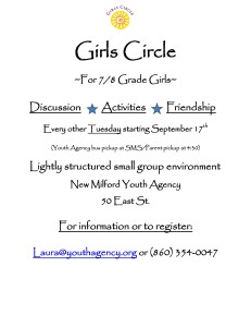 Girls Circle Flyer Fall 2013