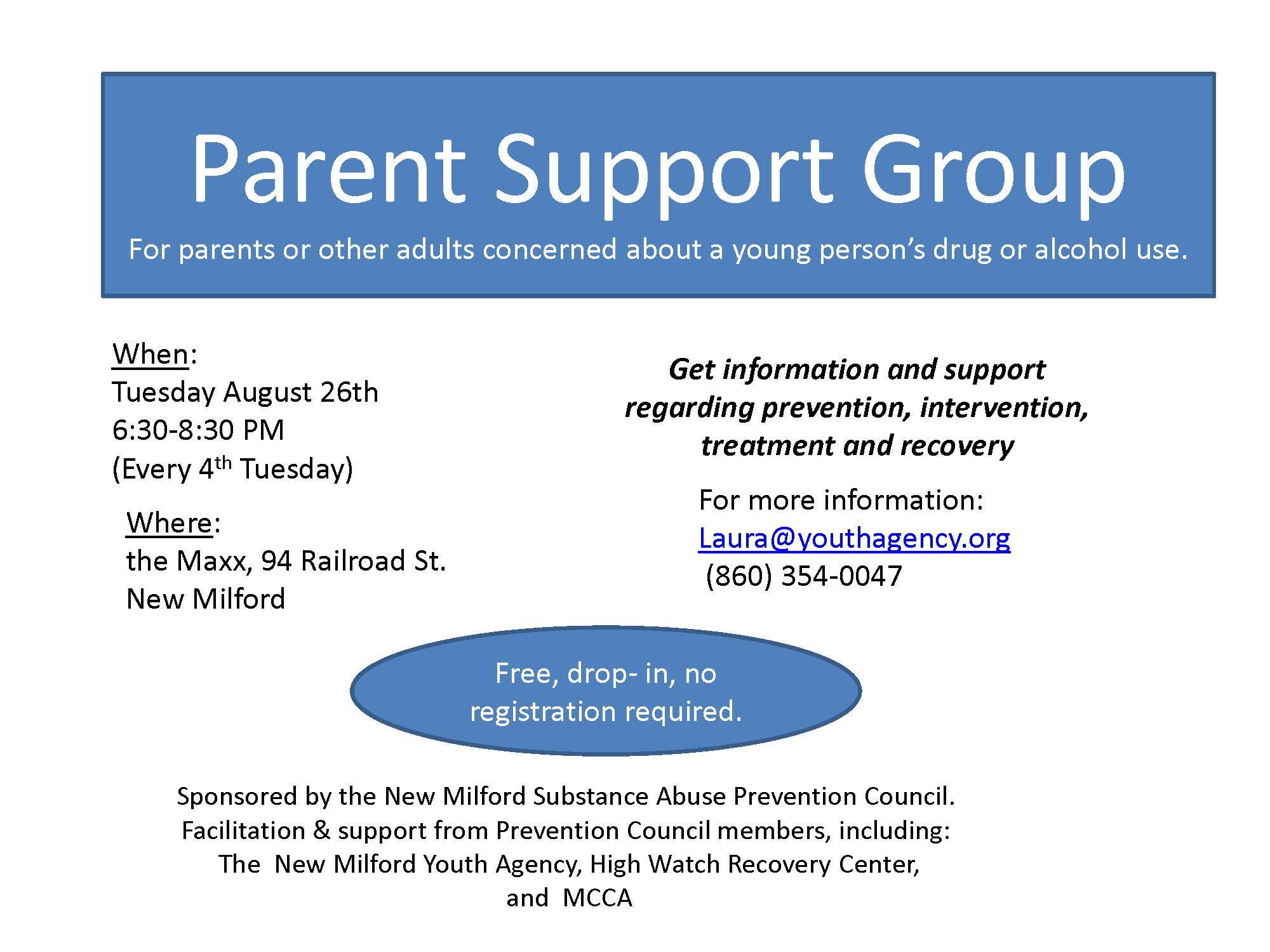 Parent Support Group August