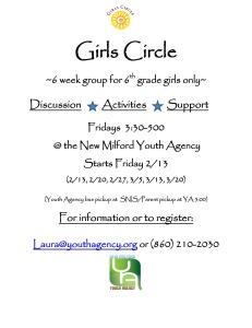 Girls group flyer February 2015