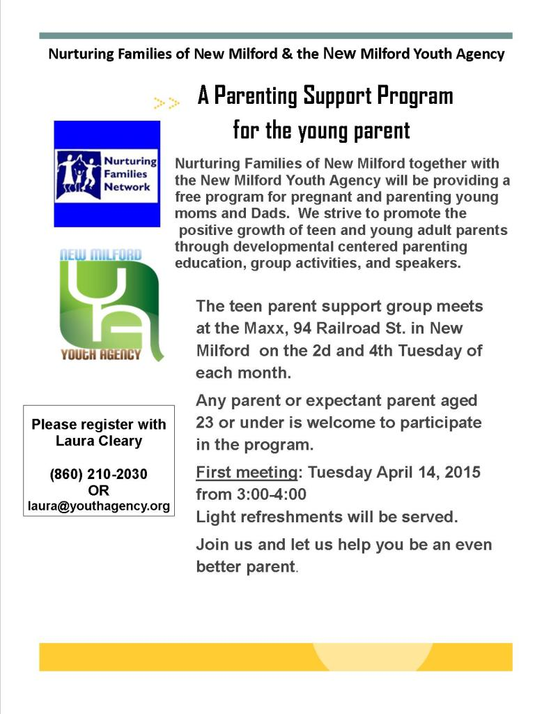 Teen parent support group April 2015