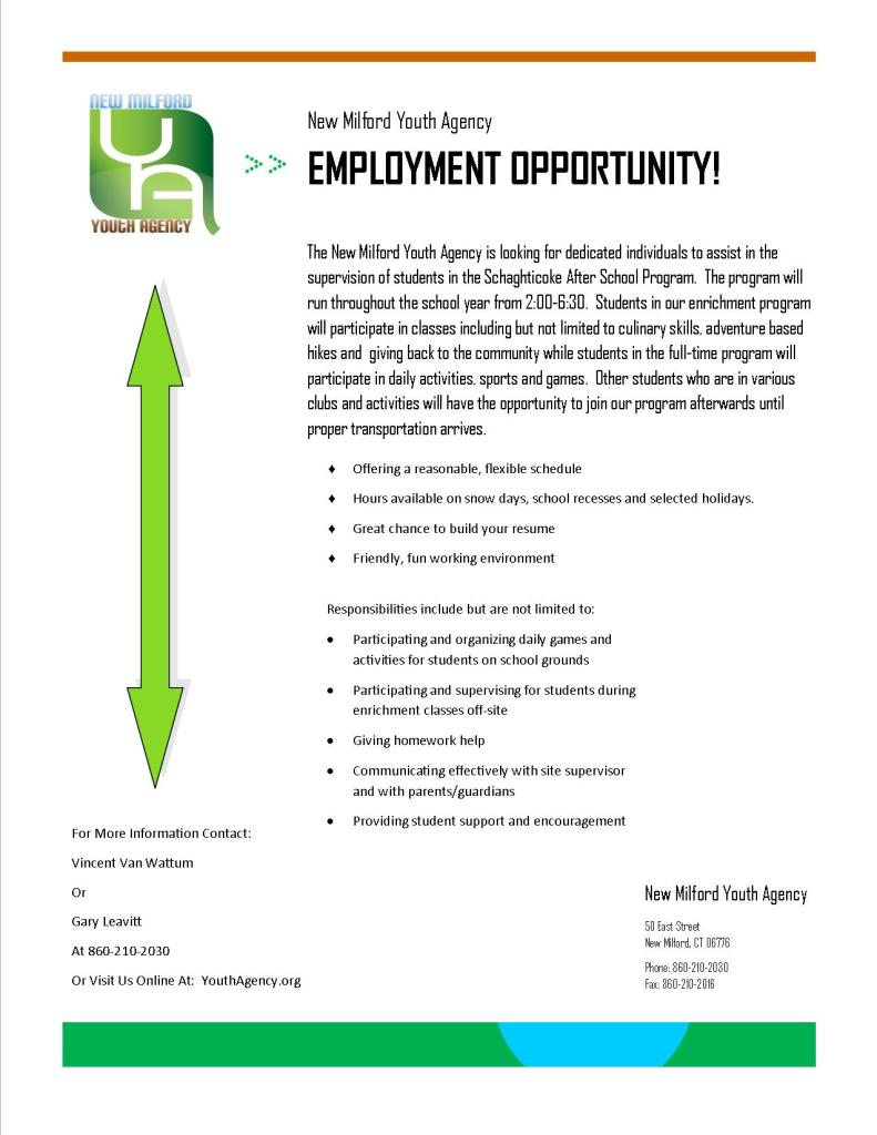 Staffing Ad For Subs and Career Center
