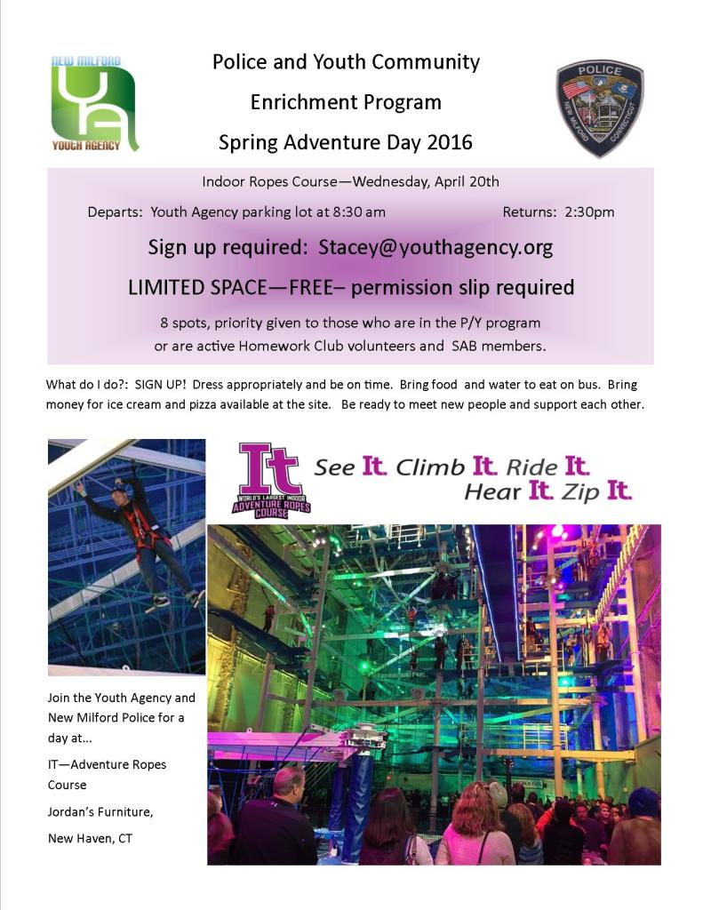 Police youth adventure day 2016